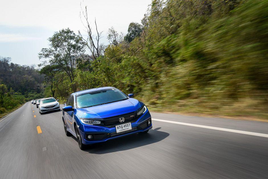 Honda SENSING เทคโนโลยีความปลอดภัยอัจฉริยะจากฮอนด้า