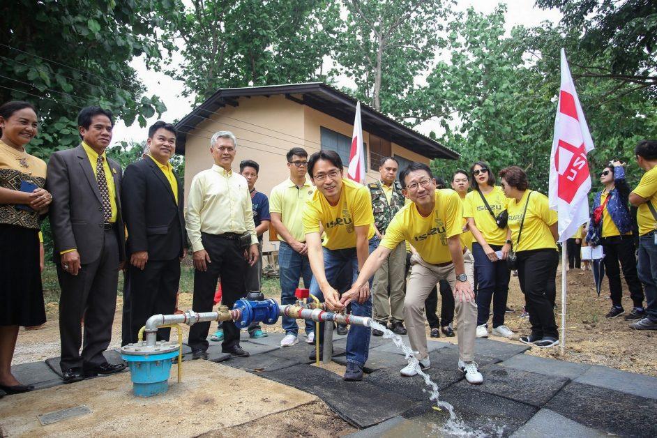 """อีซูซุ ส่งมอบโครงการ """"อีซูซุให้น้ำ...เพื่อชีวิต"""" แห่งที่ 34"""
