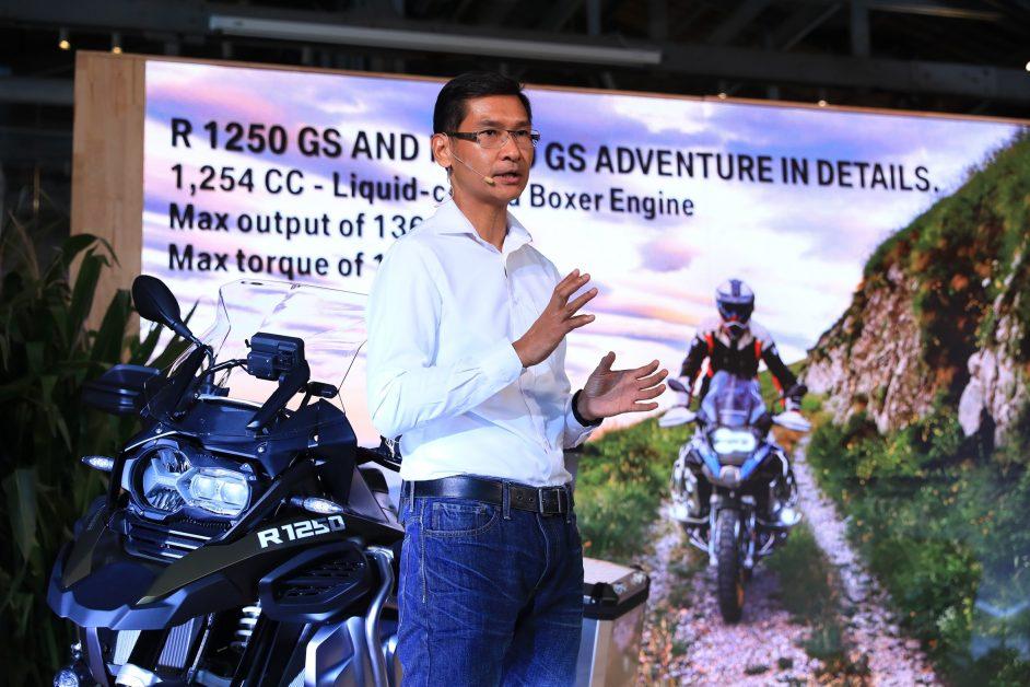 บีเอ็มดับเบิลยู มอเตอร์ราด ประเทศไทย เปิดตัวมอเตอร์ไซค์ในตระกูล GS 2รุ่น ใหม่ล่าสุด
