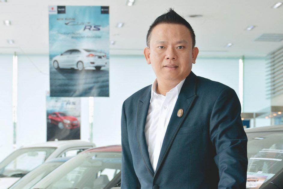 นายวัลลภ ตรีฤกษ์งาม กรรมการบริหารด้านการขายและการตลาด บริษัท ซูซูกิ มอเตอร์ (ประเทศไทย) จำกัด