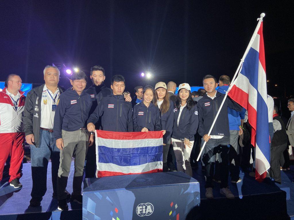 ข่าวรถวันนี้ : GP eRacing ส่ง ธนานนท์ อินทองสุข นักแข่งตัวเเทนประเทศไทย ในหมวด Digital Cup สู้ศึก โอลิมปิกรถแข่ง FIA MOTORSPORT GAMES ที่ประเทศ อิตาลี