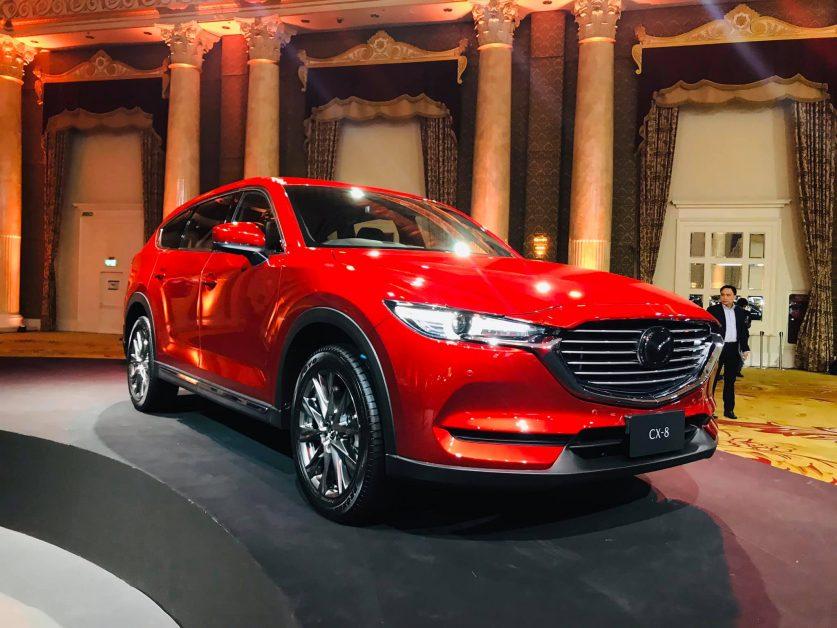 1. รีวิวรถใหม่ : All-New Mazda CX-8 พรีเมียม 3-Row Crossover SUV
