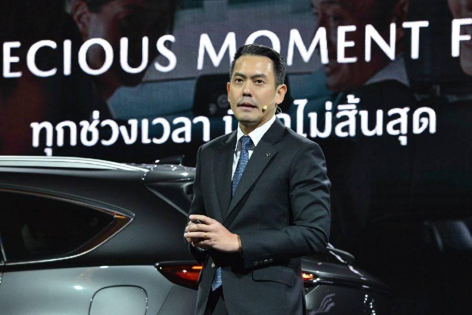นายธีร์ เพิ่มพงศ์พันธ์ รองประธานบริหารฝ่ายการตลาดและรัฐกิจสัมพันธ์ บริษัท มาสด้า เซลส์ ประเทศไทย จำกัด