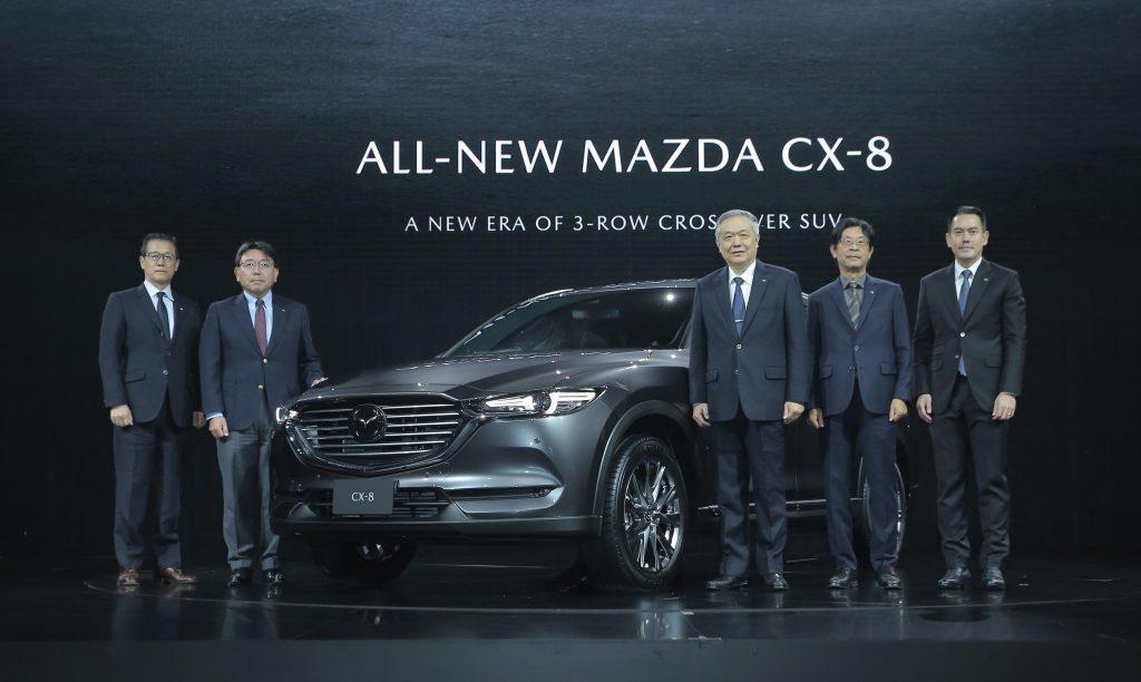ข่าวรถวันนี้ : มาสด้าเปิดตัว All-New Mazda CX-8