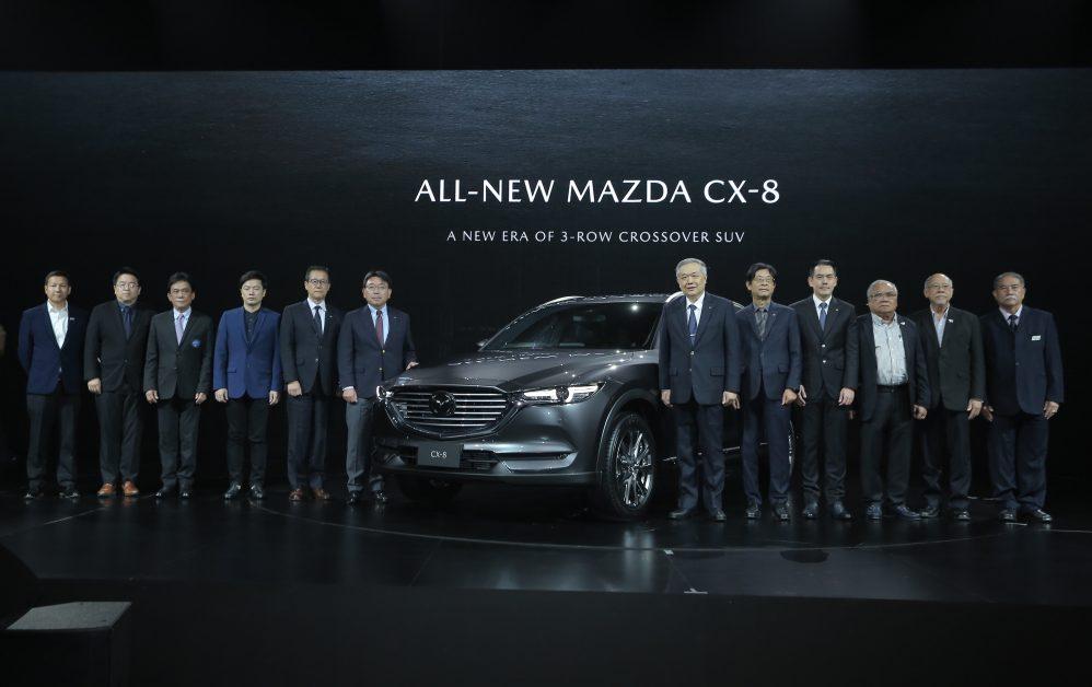 1. ข่าวรถวันนี้ : มาสด้าเปิดตัว All-New Mazda CX-8