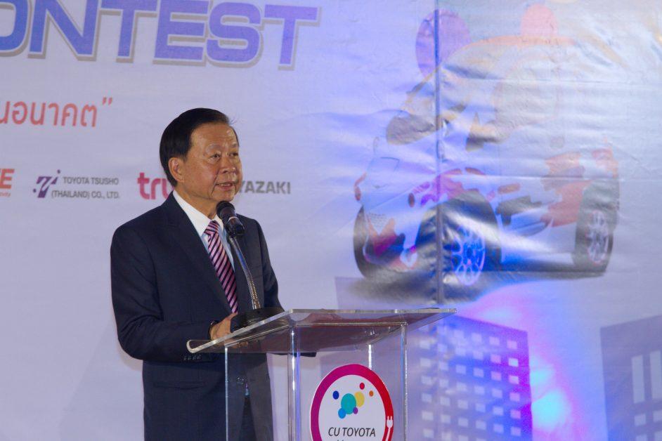 นายนินนาท ไชยธีรภิญโญ ประธานคณะกรรมการ บริษัท โตโยต้า มอเตอร์ ประเทศไทย จำกัด : ข่าวรถวันนี้