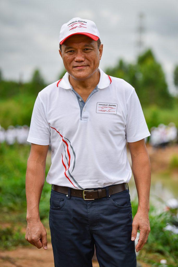 นายพิทักษ์ พฤทธิสาริกร กรรมการผู้จัดการกองทุนฮอนด้าเคียงข้างไทย