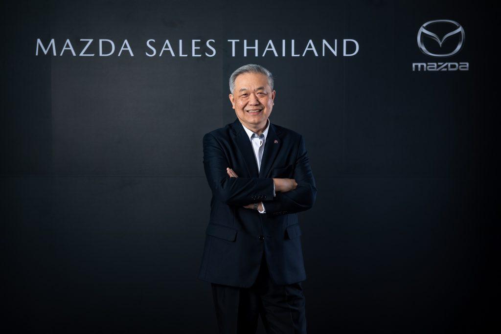 นายชาญชัย ตระการอุดมสุข ประธานบริหาร บริษัท มาสด้า เซลส์ (ประเทศไทย) จำกัด