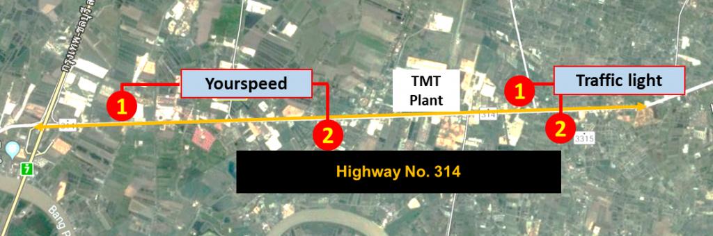 ข่าวรถวันนี้ : โตโยต้า ส่งมอบถนนต้นแบบแห่งความปลอดภัย แห่งที่ 2 บริเวณถนนทางหลวงหมายเลข 314 จ.ฉะเชิงเทรา