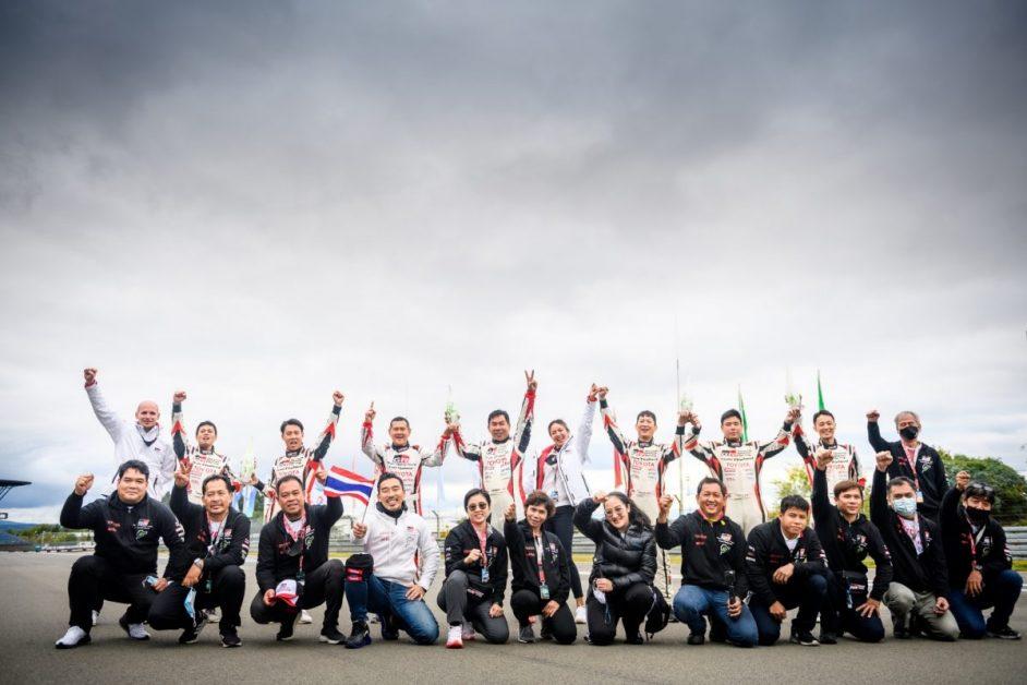 มอเตอร์สปอร์ต : Toyota Corolla Altis GR Sport คว้าอันดับ 1 และ 2 ในรุ่น Super Production 3 ในรายการ ADAC Total 24h-Race Nürburgring ณ ประเทศเยอรมัน