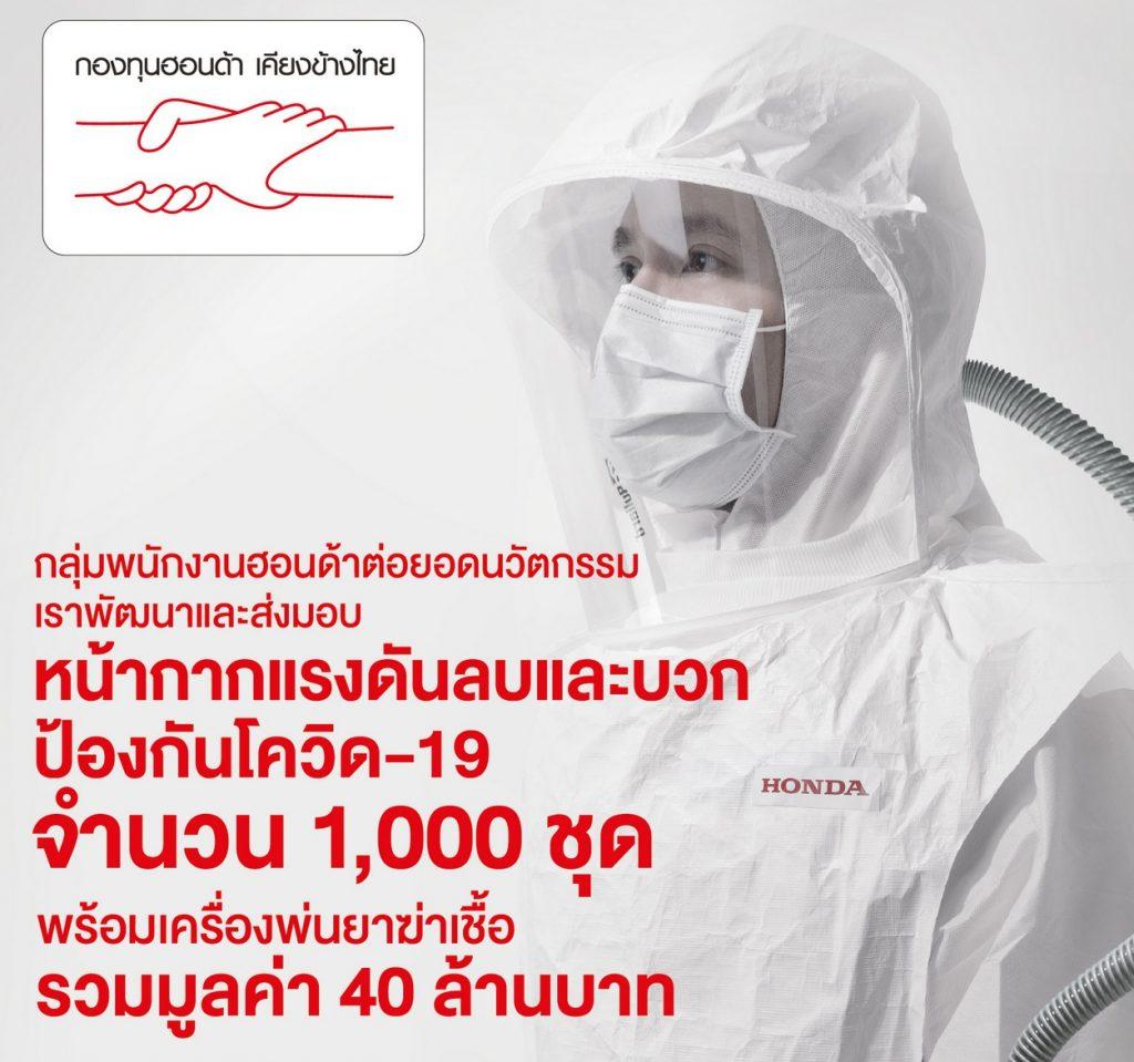 ข่าวรถวันนี้ : กองทุนฮอนด้าเคียงข้างไทย ร่วมต้านภัยโควิด-19 ระลอกใหม่