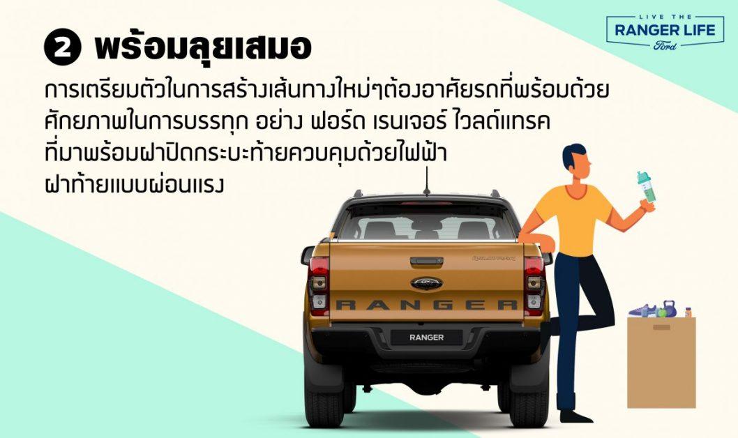 ข่าวรถวันนี้ : ฟอร์ด เรนเจอร์ รถคู่ใจที่จะพาคุณออกไปสนุกกับการใช้ชีวิต