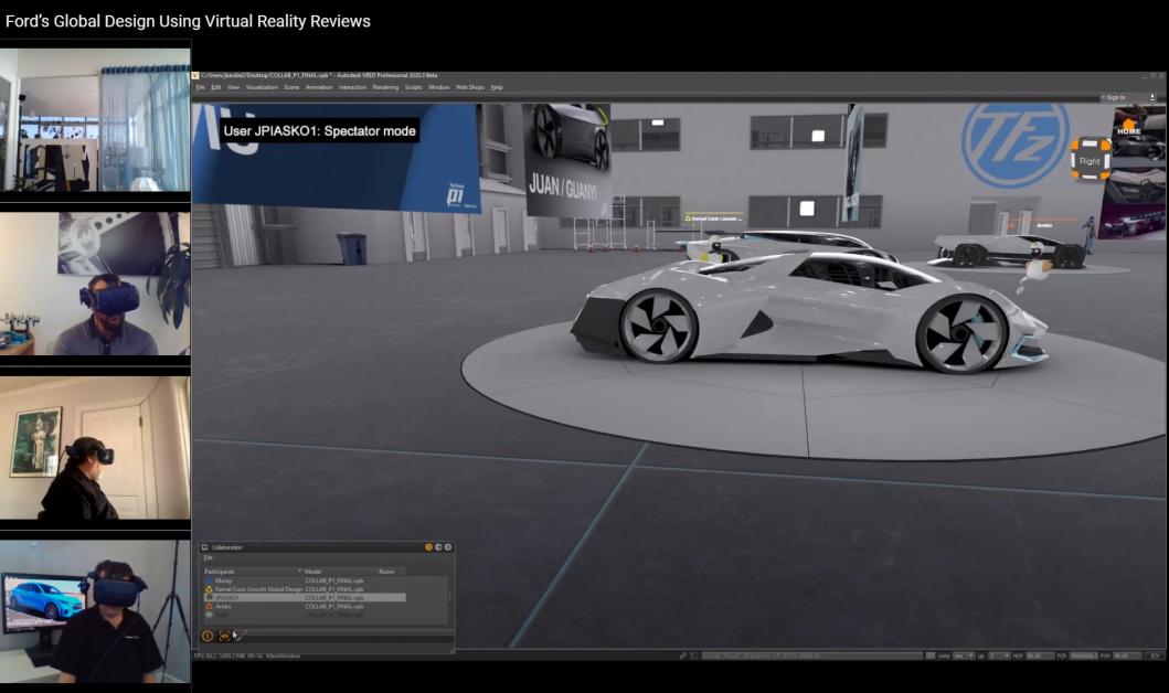 ข่าวรถวันนี้ : ทีมนักออกแบบรถฟอร์ดใช้เทคโนโลยีเสมือนจริงสุดล้ำ ร่วมกันออกแบบรถรุ่นใหม่ระหว่างทำงานที่บ้าน
