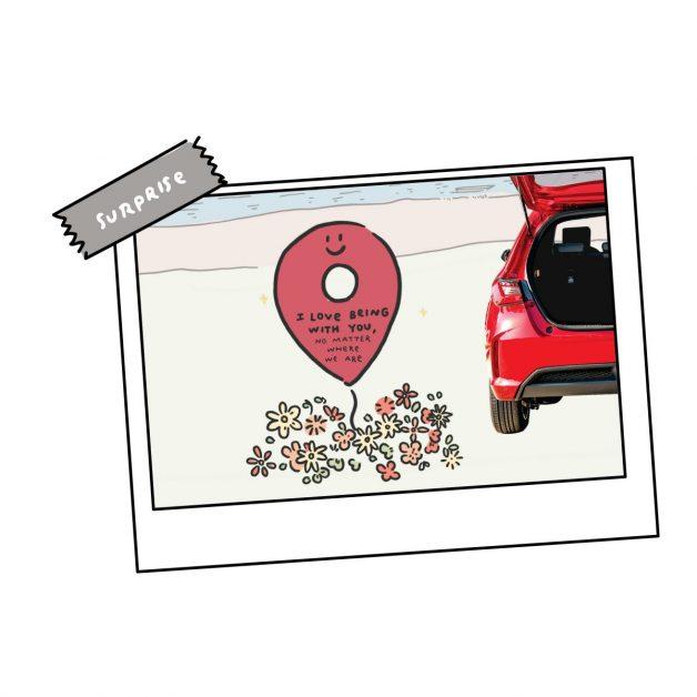 """ข่าวรถวันนี้ : เปิด 5 ทริค เติมความสวีตรับวาเลนไทน์ กับรถแฮทช์แบ็ก 5 ประตูยอดฮิต """"ฮอนด้า ซิตี้ แฮทช์แบ็ก ใหม่"""""""