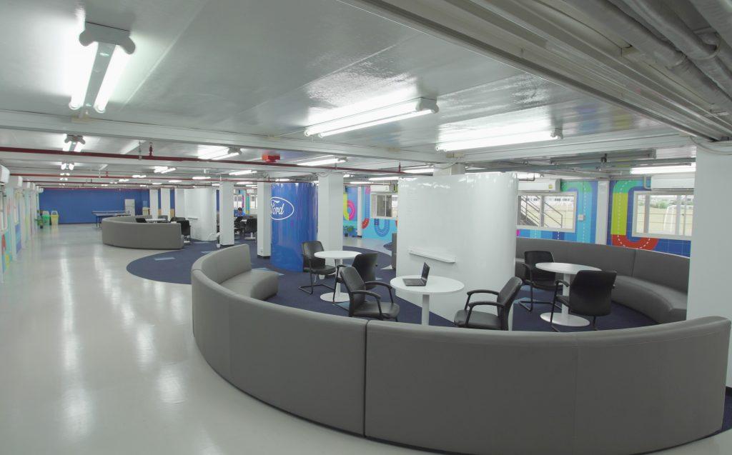 ข่าวรถวันนี้ (28 /04/2021) : ฟอร์ด เปิด 'เมกเกอร์ สเปซ' พื้นที่สร้างสรรค์นวัตกรรมเพื่อการพัฒนาผลิตภัณฑ์ที่โรงงานเอฟทีเอ็ม