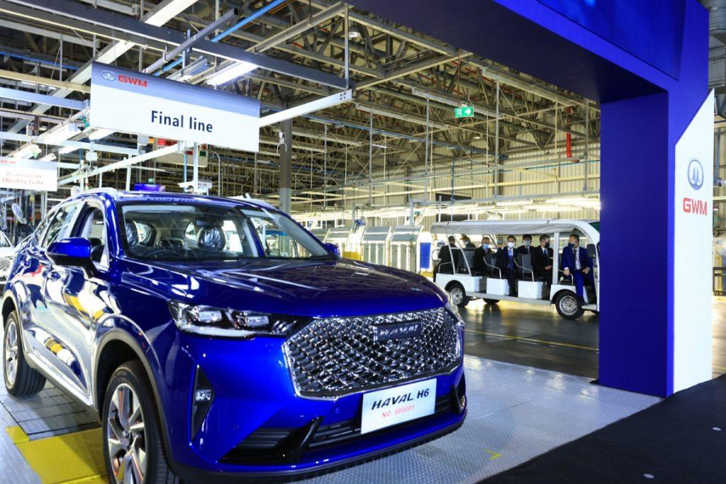 ข่าวรถวันนี้ 2021 (9/06/21) : เกรท วอลล์ มอเตอร์ เปิดโรงงานเต็มรูปแบบแห่งที่สองนอกประเทศจีน ณ ประเทศไทยอย่างเป็นทางการ