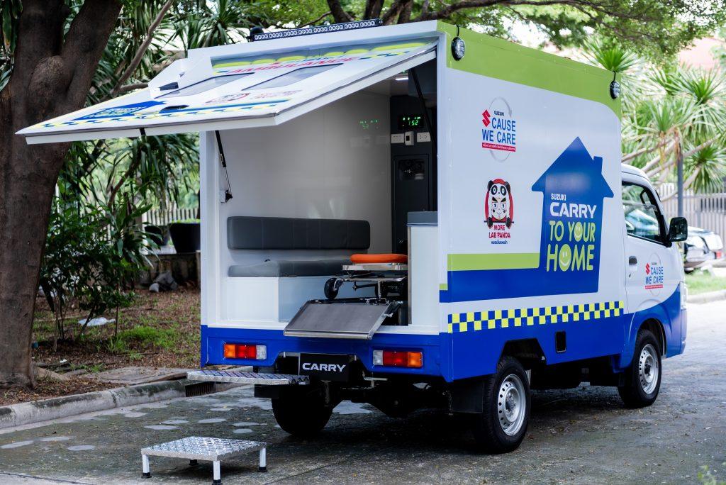 ข่าวรถวันนี้ (10/08/21) : SUZUKI ผุดโครงการเพื่อสังคมไทย ปรับรถบรรทุกอเนกประสงค์ SUZUKI CARRY TO YOUR HOME เป็นรถเคลื่อนย้ายผู้ป่วยโควิดกลับบ้าน