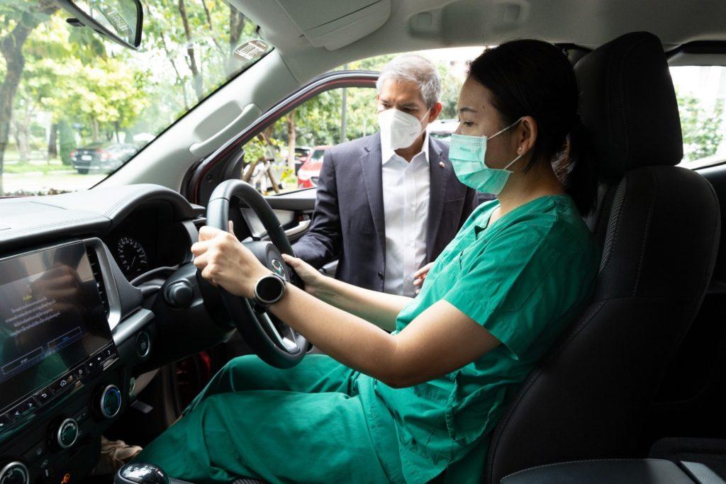 ข่าวรถวันนี้ (1/09/2021) : มาสด้า ส่งมอบปิกอัพ ALL-NEW MAZDA BT-50 ให้กับโรงพยาบาลสนามธรรมศาสตร์เพื่อปฏิบัติภารกิจพิชิตโควิด-19