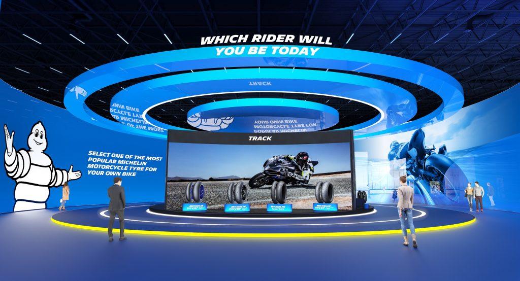 ข่าวรถวันนี้ : 'มิชลิน' เปิดตัวนิทรรศการยางรถจักรยานยนต์แบบเสมือนจริง